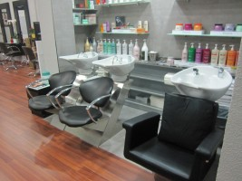 Interior peluquería Trafalgar  13 con Licencias Express